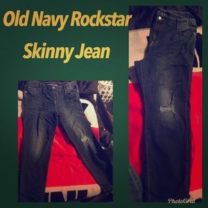 Old Navy Rock Star Skinny Jeans